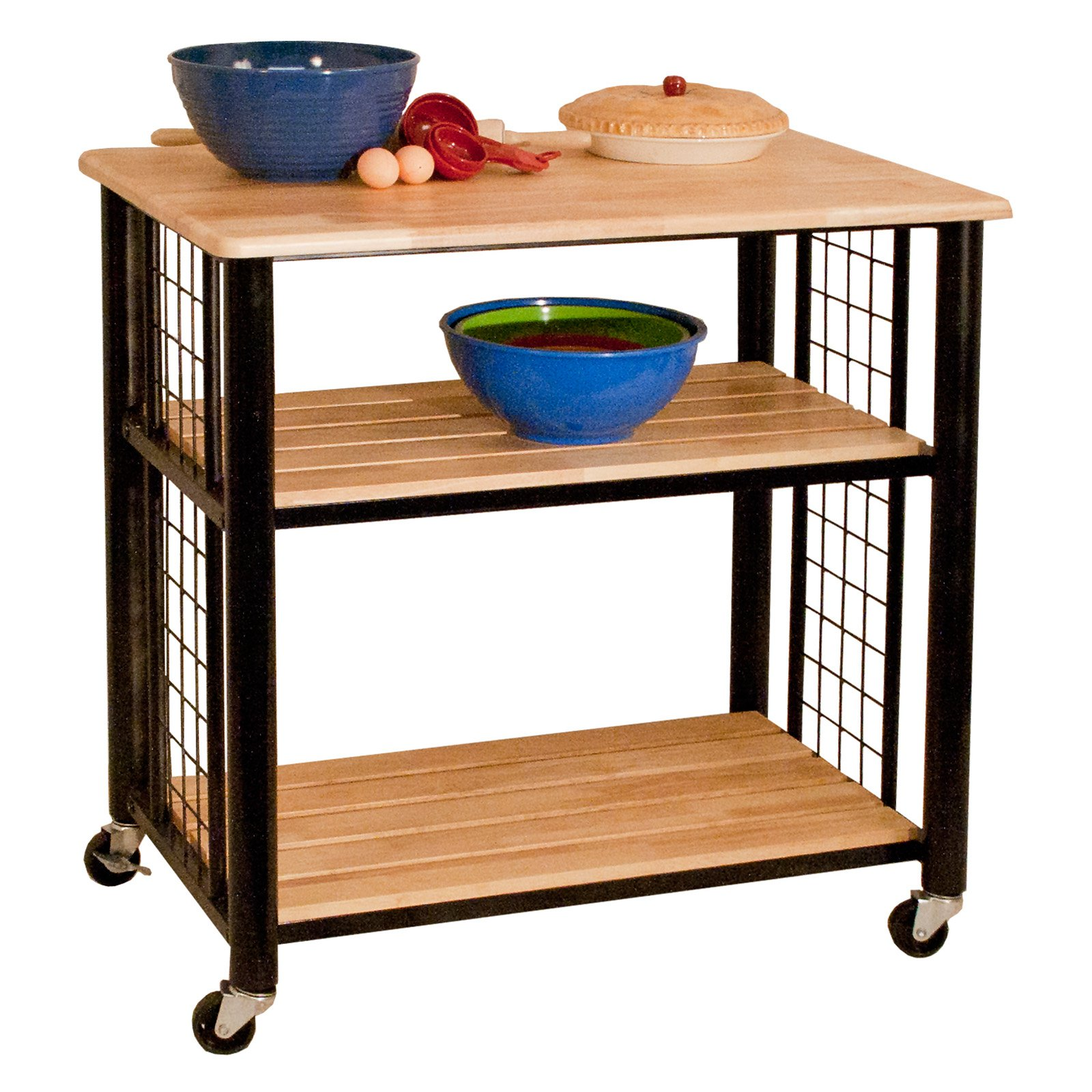 Catskill Craftsman Contemporary Portable Kitchen Cart