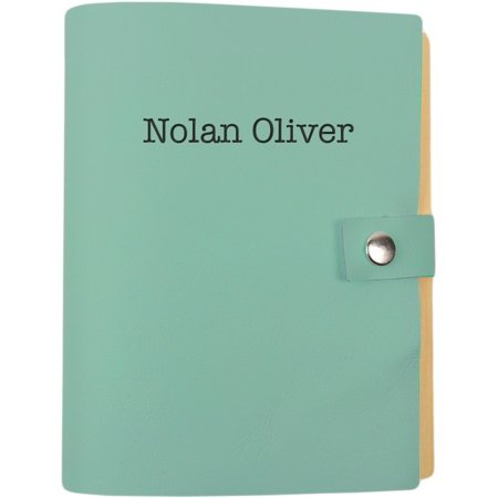 Kids Personalized Leather Journal