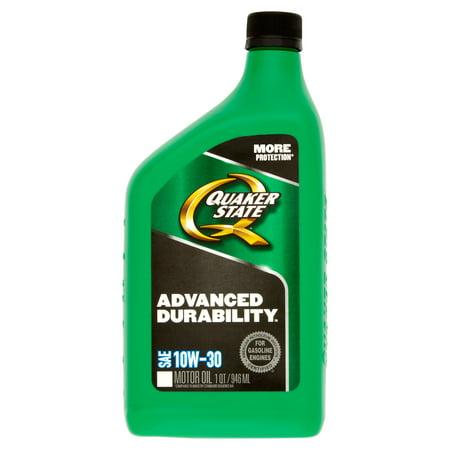 Quaker State Advanced Durability Sae 10W 30 Motor Oil 1Qt