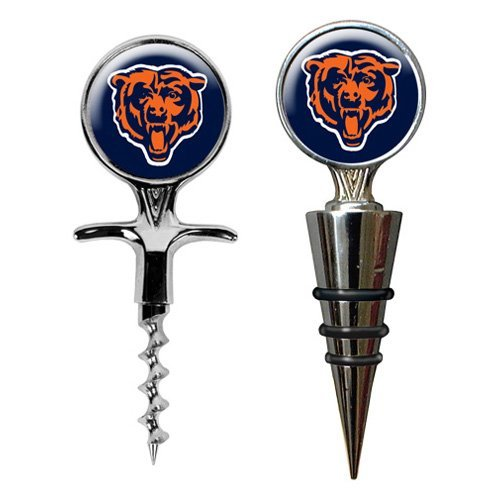 Great American NFL Cork Screw and Wine Bottle Topper Set