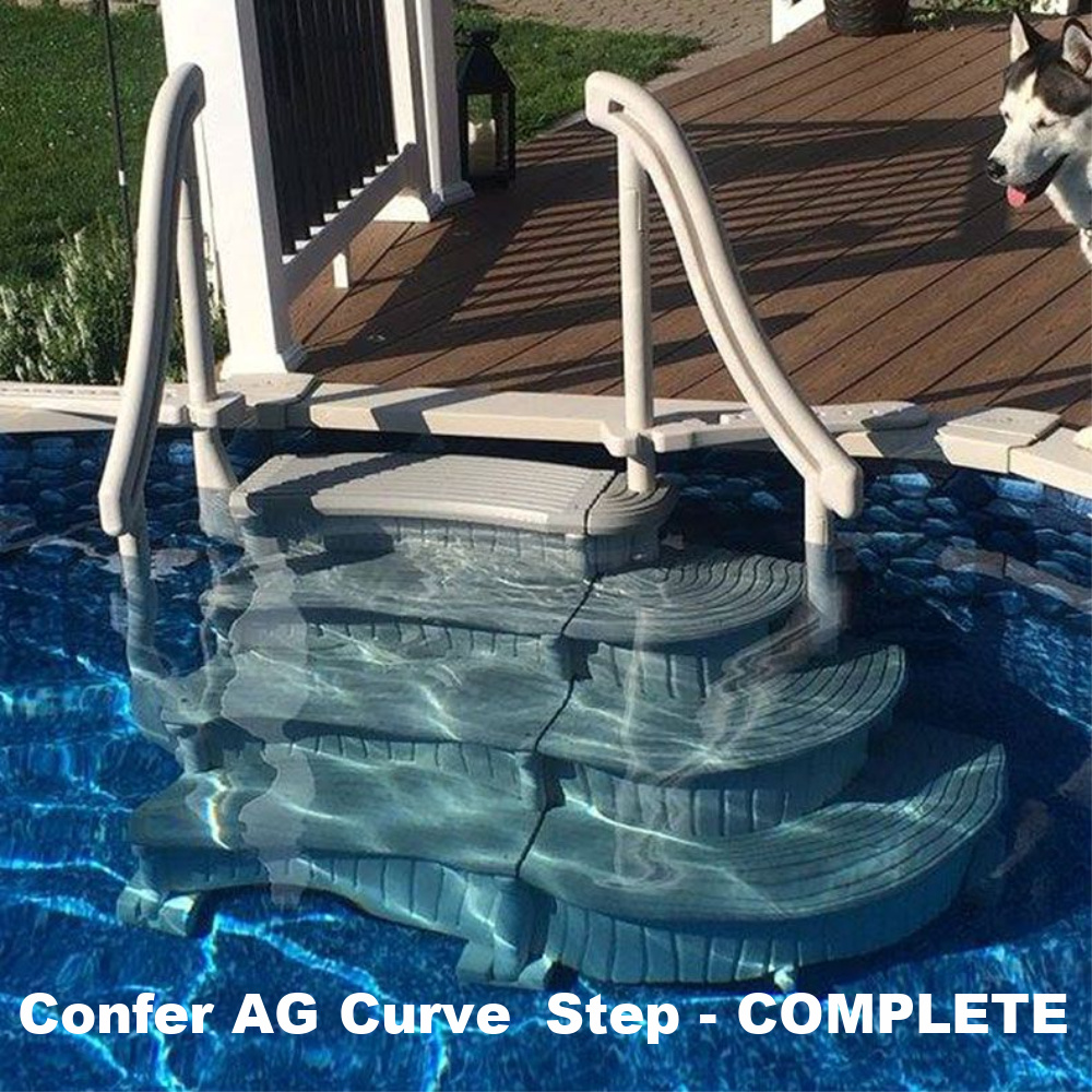 Confer Above Ground Swimming Pool Curve