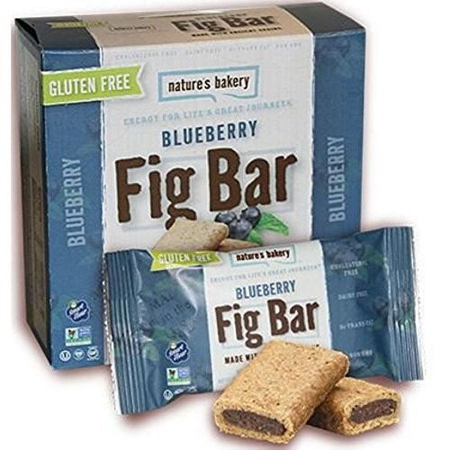 Nature's Bakery Gluten Free Fig Bars, Blueberry, 2 Oz, 6 Ct