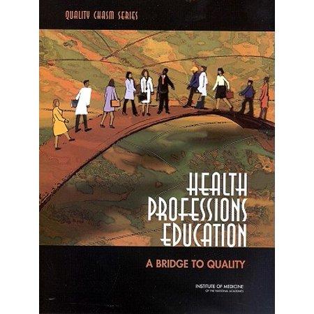 Quality Bridles (Health Professions Education : A Bridge to Quality )