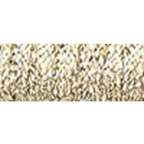 Kreinik Fine Metallic Braid, #8, 11yd, Hi Lustre Gold