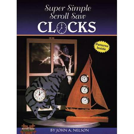 Super Simple Scroll Saw Clocks (Best Hobby Scroll Saw)