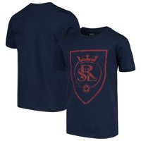 Real Salt Lake Youth Rush to Score T-Shirt - Navy