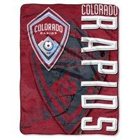"""Colorado Rapids The Northwest Company 46"""" x 60"""" Concrete Raschel Throw Blanket"""