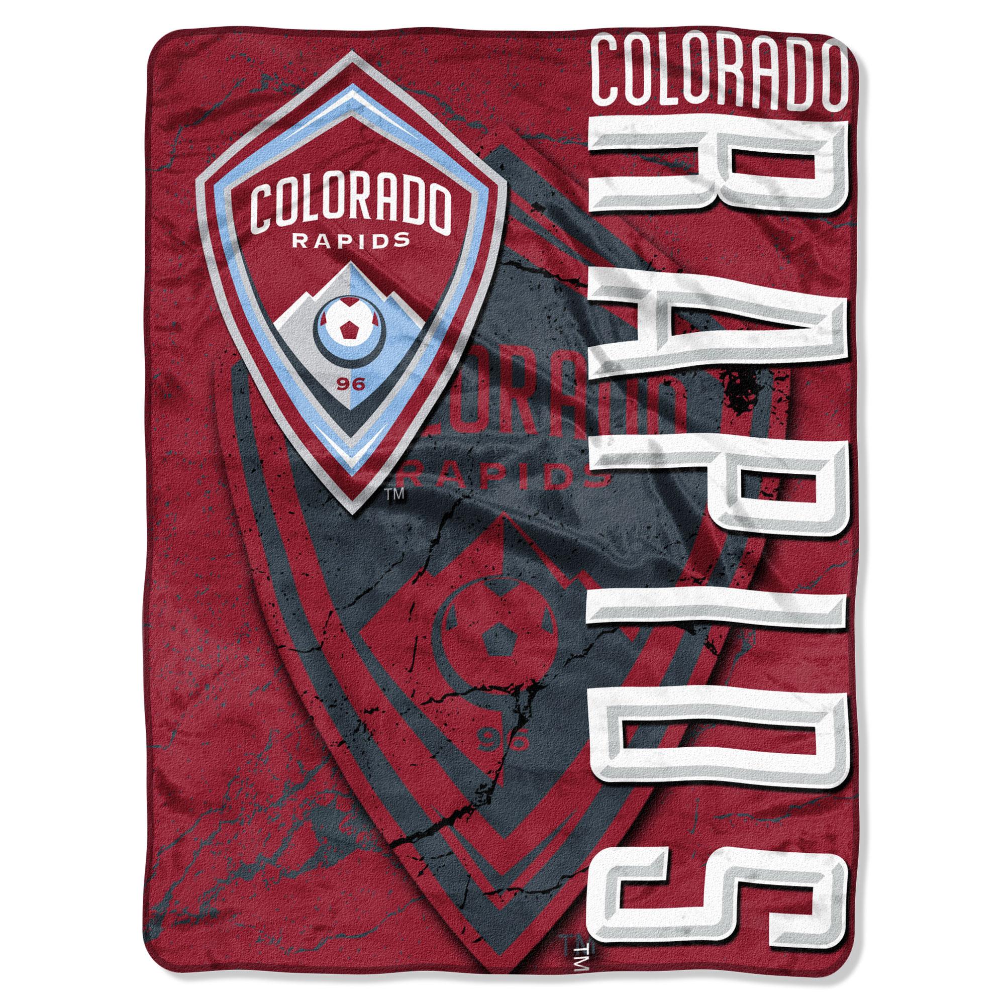 "Colorado Rapids The Northwest Company 46"" x 60"" Concrete Raschel Throw Blanket - No Size"