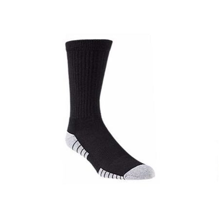 Under Armour 1303206 Men's HeatGear Tech Crew Socks 3 Pack Size 9-15