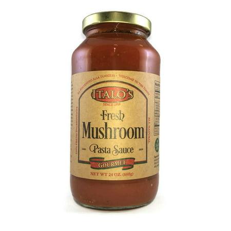 Italo's Gourmet Real Italian, Fresh Mushroom Pasta Sauce