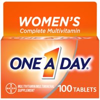 One A Day Women's Multivitamin Tablets, Multivitamins for Women, 100 Ct
