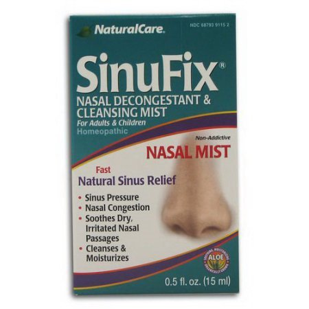 Natural Care SinuFix Mist, .5 Oz (Sinufix Natural)