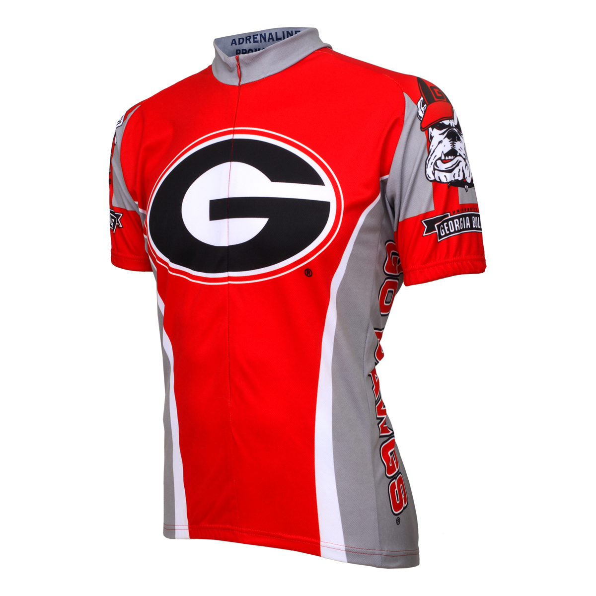 Adrenaline Promotions University of Georgia Bulldog Cycling Jersey