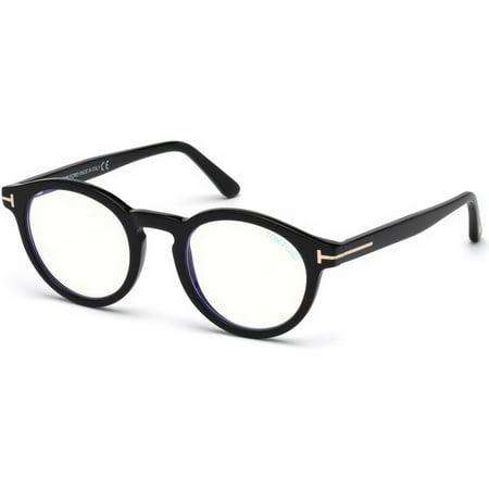 Tom Ford FT 5529B Eyeglasses 001 Shiny Black