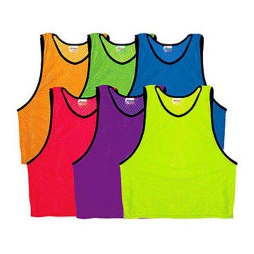 1 Scrimmage Pinnie Vest Mesh Soccer Practice For all Sports