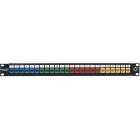 GigaStation2 High-Density Multimedia Patch Panel - 24 Port, 1U