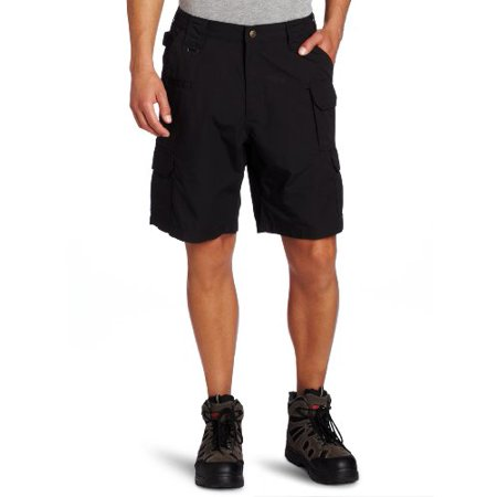 "Image of 5.11 Tactical Taclite Shorts, 9.5"" inseam, Black, Size 36 511 73287-019 36"