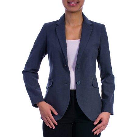 George Women's Plus-Size Classic Career Blazer