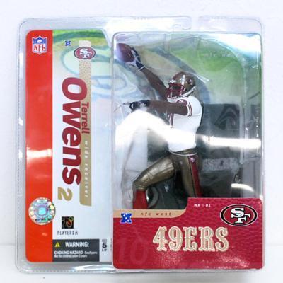 McFarlane NFL Sports Picks Series 10 Terrell Owens Action Figure [49ers