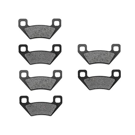 KMG Front + Rear Brake Pads for 2005-2008 Arctic Cat 400 Auto - Non-Metallic Organic NAO Brake Pads Set - image 4 de 4