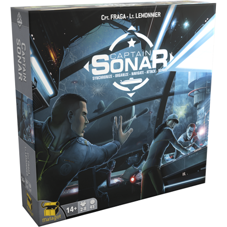 Captain Sonar Strategy Board Game ()