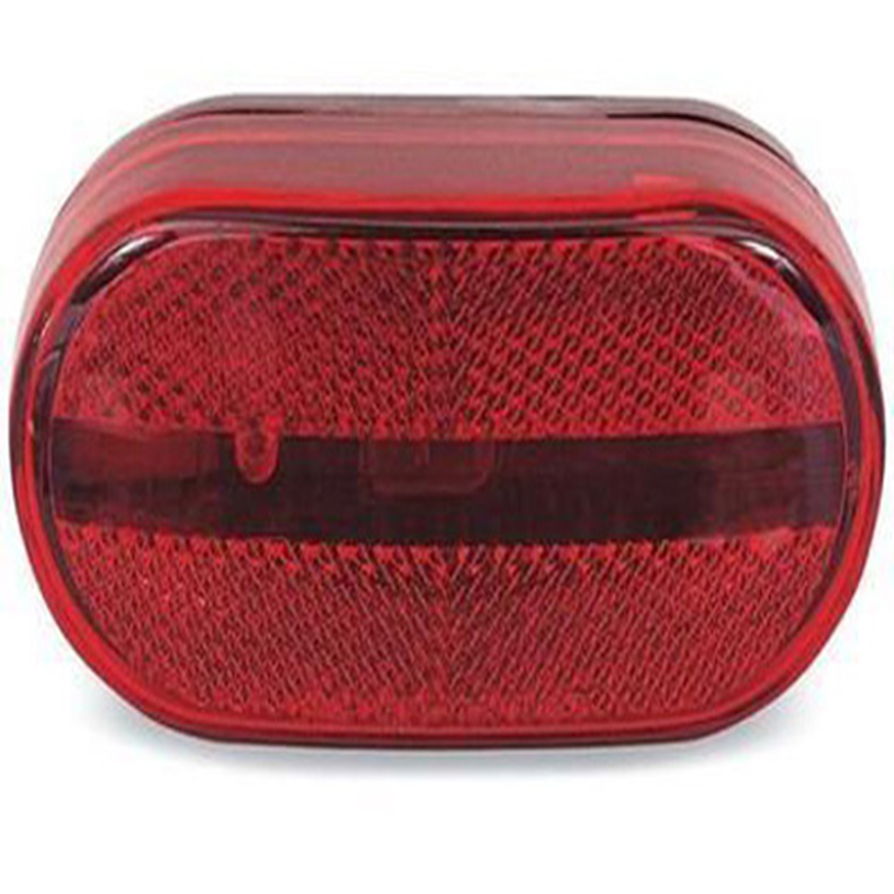 OBLONG CLEARANCE LIGHT RED