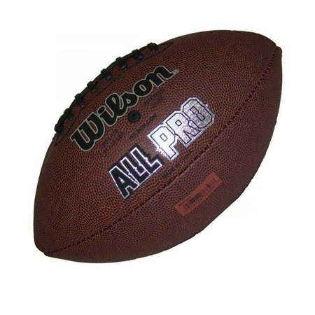 Wilson F1455 NFL All Pro Game Football (Official Size) Wilson Official Nfl Game Football