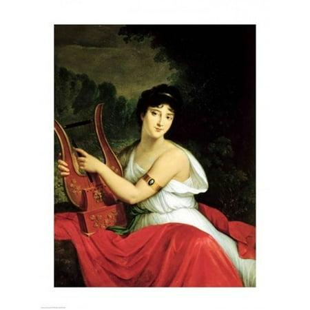 Portrait of Madame de la Pleigne Poster Print by Francois Gerard - Item # VARBALART177520