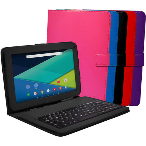 Visual Land Prestige Elite10QL Quad Core 16GB Android Lollipop 5 Tablet w/Keyboard Case