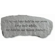 Kay Berry- Inc. 364202 Those We Have Held In Our Arms - Memorial Bench - 29 Inches x 12 Inches x 14.5 Inches