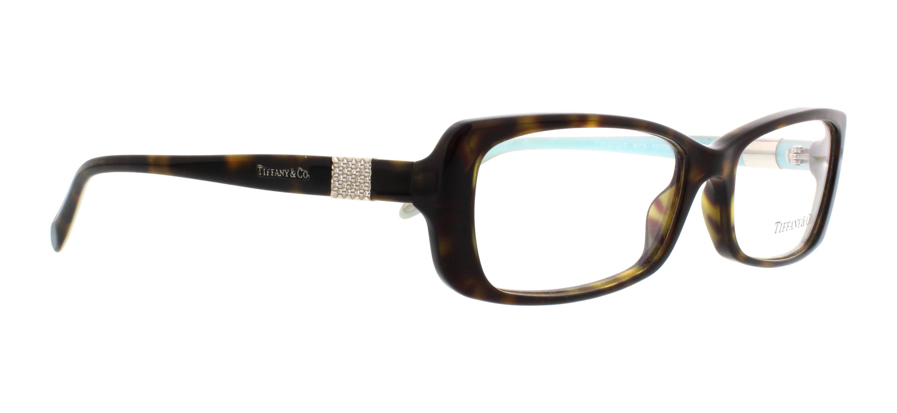 d86f26a5fde TIFFANY Eyeglasses TF 2070B 8015 Havana 55MM - Walmart.com