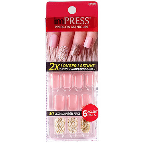 Broadway Impress Gel Nails, Symphony, 36 count