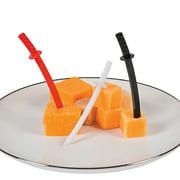 Ninja Sword Plastic Picks (72Pc) - Party Supplies - 72 Pieces