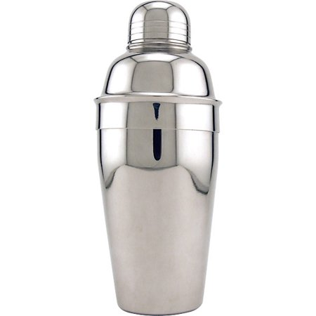 3 Piece Cocktail Shaker - Stainless Steel - 16 oz 12 Ounce Cocktail Shaker