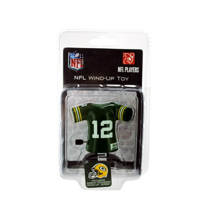 Green Bay Packers Aaron Rodgers Jersey Wind Up Toy