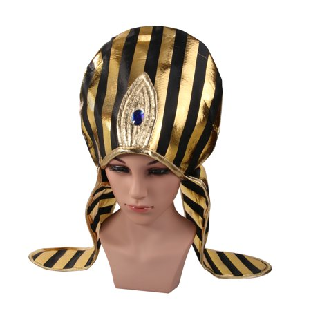 Child Cosplay Egypt Style Hood Hat Funny Cosplay Party Hat