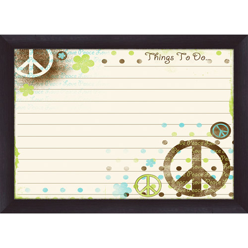 Things To Do Peace Whiteboard