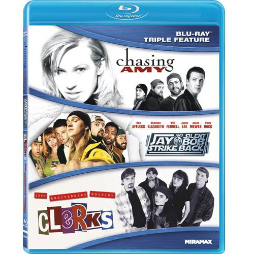 Kevin Smith Triple Feature: Jay & Silent Bob Strike Back / Chasing Amy / Clerks (Blu-ray)