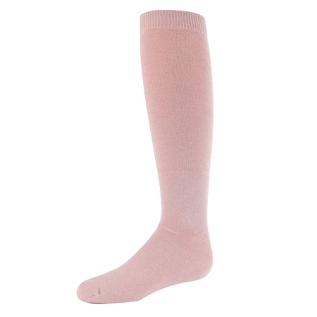 MeMoi Sparkle Knee High Socks | Girls Knee High Socks by MeMoi 6 / Pale Blush MKF 7015](Michael Jackson Sparkle Socks)