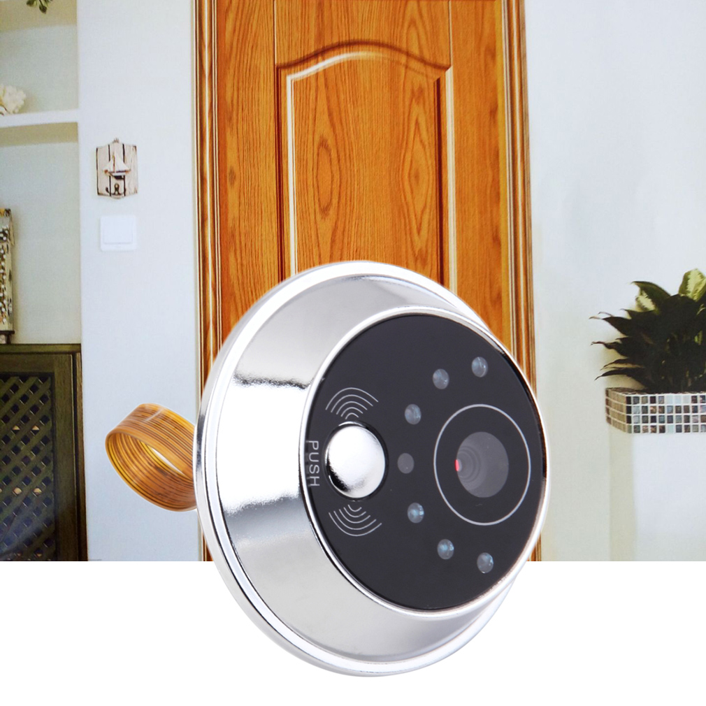 "2.4"" TFT LCD Screen Video Camera Door Phone Intercom Home Security Doorbell"