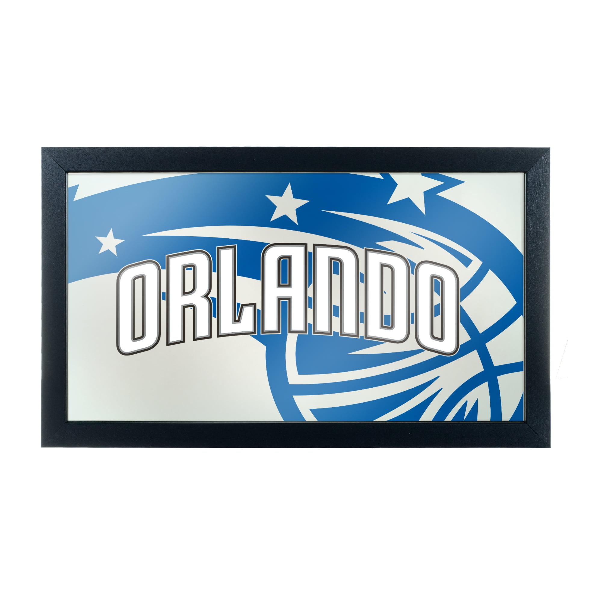 NBA Framed Logo Mirror - Fade - Orlando Magic