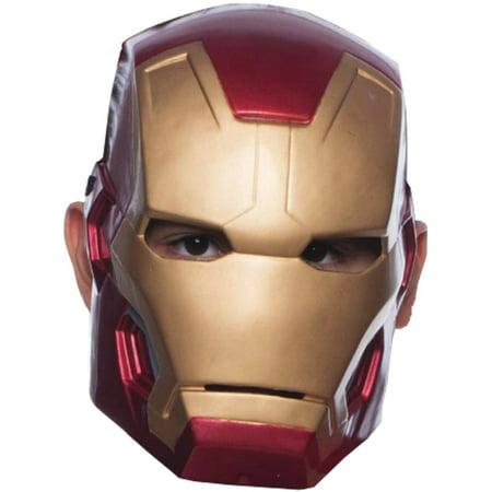Childs Boys Mark 43 Iron Man 1/ Avengers 2 Mask Costume Accessory