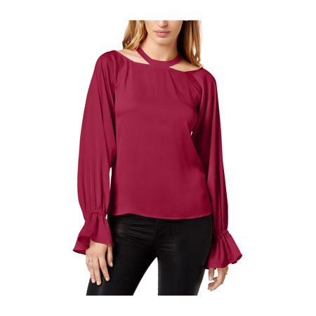 d3c4544f0f2469 1.STATE Womens Bishop-Sleeve Halter Blouse 651 XL - image 1 of 1 ...
