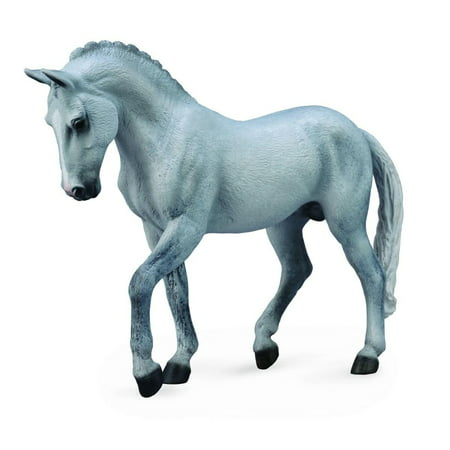 Breyer CollectA Series Grey Trakehner Stallion Model Horse - Breyer Halloween Series