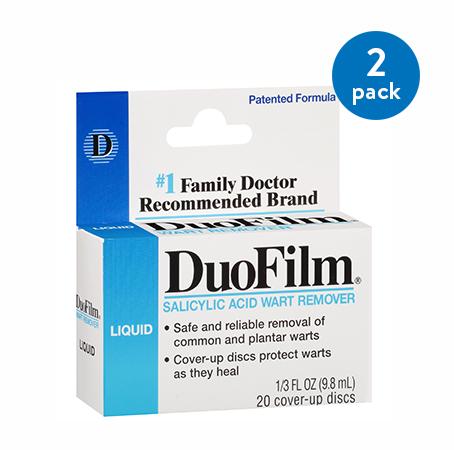 (2 Pack) DuoFilm Salicylic Acid Wart Remover, 0.33 fl oz