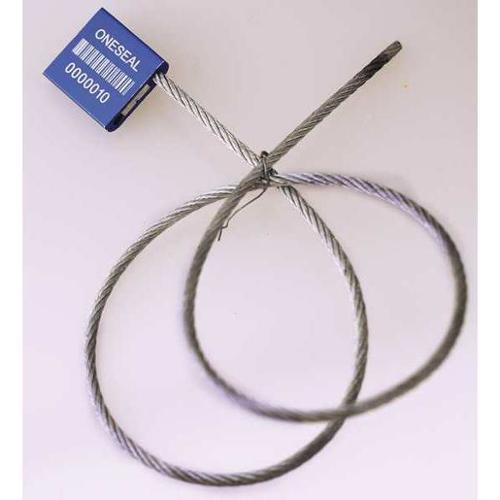 ONESEAL USA PTW35-24-BL Cable Seal,24 in.,Aluminum,Blue,PK500 G3340830