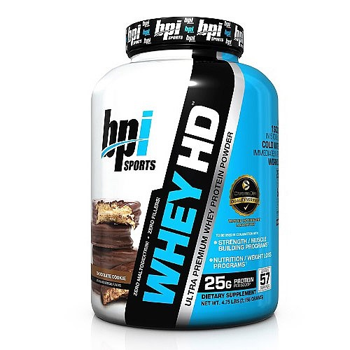 BPI Sports Whey HD, Chocolate Cookie, 4.5 Lb