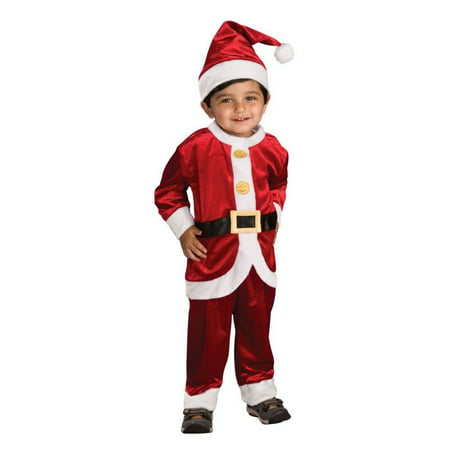 Halloween Lil' Santa Suit Infant/Toddler Costume