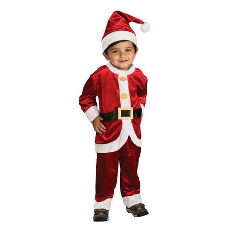 Halloween Lil' Santa Suit Infant/Toddler Costume](Lil Monster Baby Halloween Costume)