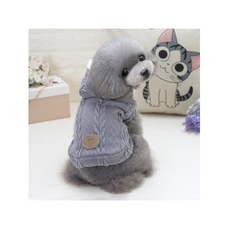 Newstar Ahpet10gm Pet Sweaters For Puppy Winter Warm Clothes Straw